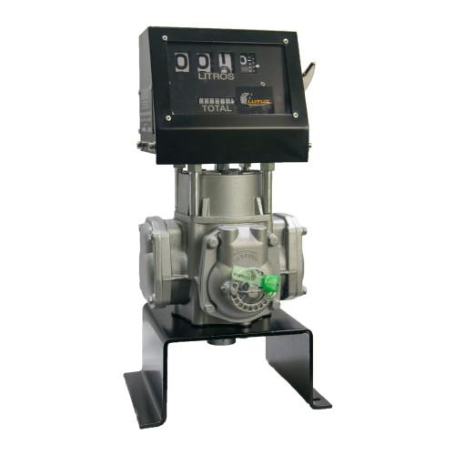 Bloco Volumétrico Registrador com Numerador de Combustíveis Lupus 2100-MPBS de 04 Dígitos 100LPM 1 Polegada