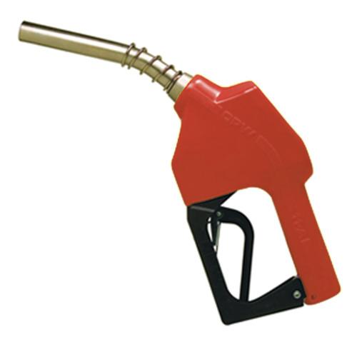 Bico de Abastecimento Automático OPW 11B Vermelho Entrada e Saída 3-4Pol Ponteira 15-16Pol Alumínio