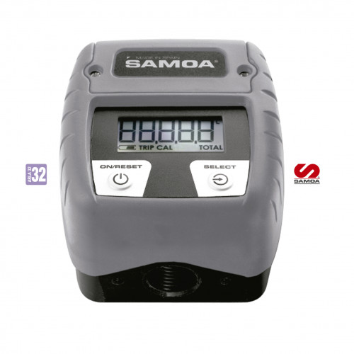 Medidor Digital para Arla 32 Samoa 2126 50LPM Entrada e saída 1-2 Polegadas.