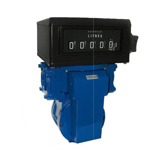 Medidor Mecânico Registrador de Alta Vazão para Diesel Gasolina e Querosene Lupus 2300-MP 04 Dígitos 400LPM 2 Polegadas