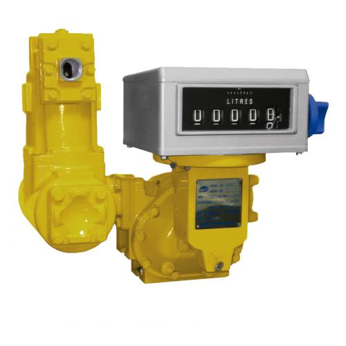 Medidor Mecânico Registrador de Alta Vazão para Diesel Gasolina e Querosene Lubmix MIX-MR6112 05 Dígitos 250LPM 1.1/2 Pol
