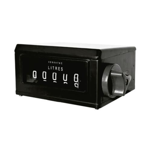 Numerador Mecânico Registrador com 05 Dígitos em Aço Lubmix MIX-NR64