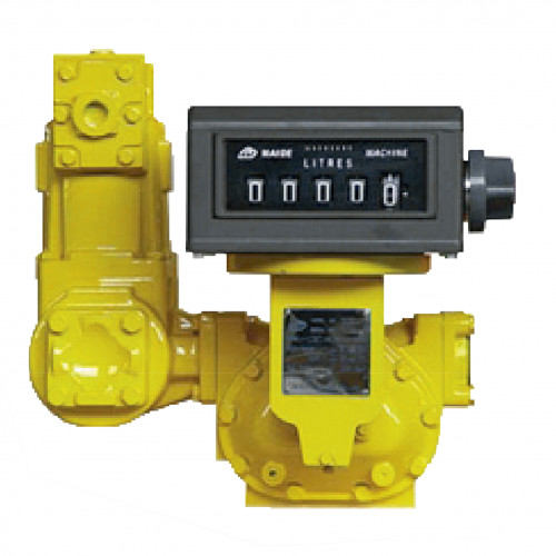 """Medidor Mecânico Registrador de Alta Vazão para Diesel Gasolina Querosene Lubmix MIX-MR63 05 Dígitos 1000LPM 3"""""""