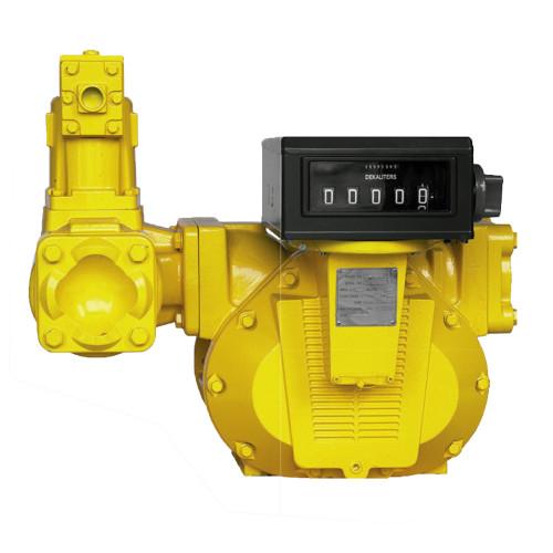 Medidor Mecânico Registrador de Alta Vazão para Diesel Gasolina e Querosene Lubmix MIX-MR64 05 Dígitos 1300LPM 4 Pol