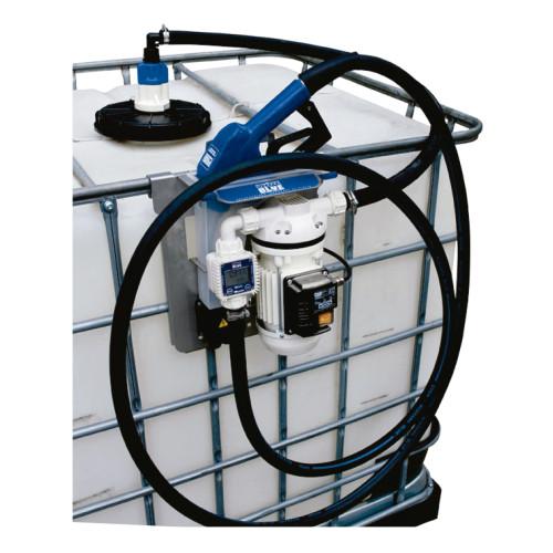 Unidade de Abastecimento IBC Pro 12V Piusi 9163 30LPM Capacidade 1000 Litros com Medidor Digital