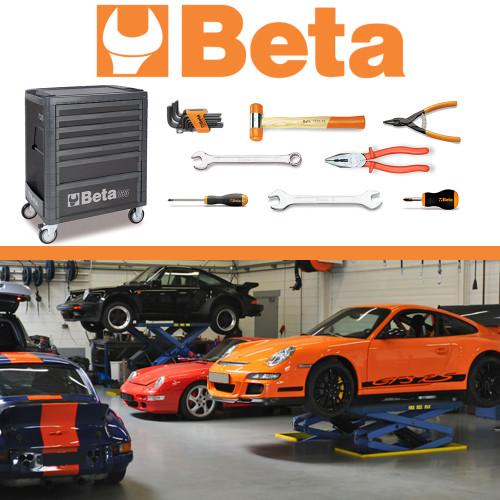 Kit Porsche - Carrinho Mecânico com 262 Ferramentas Beta MBT-PRS-CR4