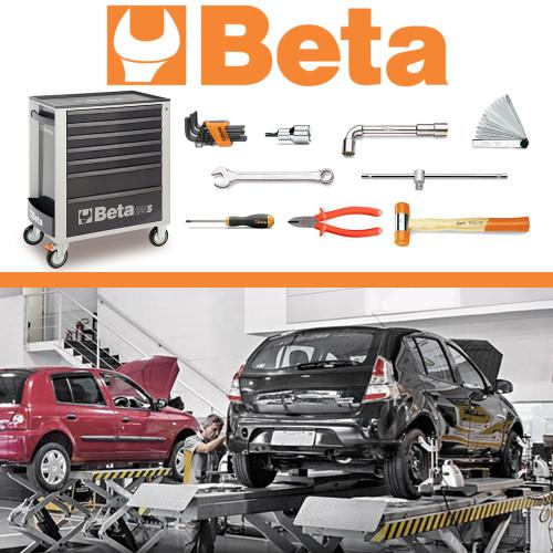 Kit Renault - Carrinho Mecânico com 207 Ferramentas Beta MBT-RNT-CR4