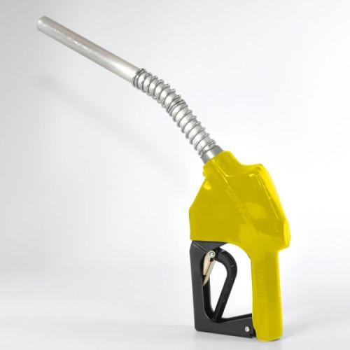 """Bico de Abastecimento Automático OPW MIX-11AL-AM Amarelo Entrada e Saída 3/4"""" Ponteira Ø 3/4"""" Alumínio (Ponteira Longa)"""
