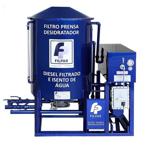 Filtro Prensa Filpar FP6000 220V ou 380V