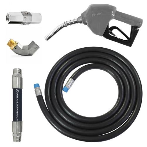 Conjunto para Abastecimento Lapek LPK-CA3P-CZ com Mangote Válvula Breakaway Mangueira Junta Giratória e Bico Automático