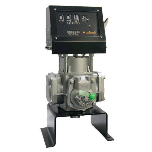 Bloco Volumétrico Registrador com Numerador para Diesel Gasolina Querosene Etanol Lubmix MIX-BRN61 de 04 Dígitos 100LPM 1 Pol