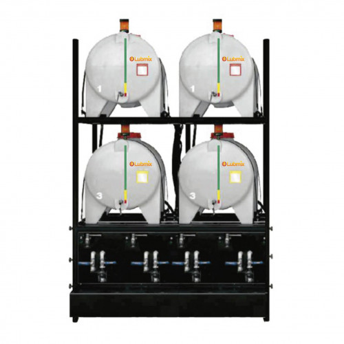 Sistema de Armazenamento Transferência e Filtragem Standard Lubmix MIX-SATF04