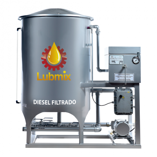 Filtro Prensa Simples Diesel Lubmix MIX-SF4800 Reservatório 500 Lts