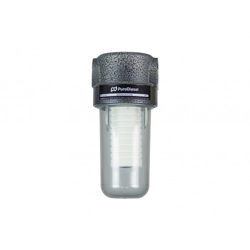 Filtro de linha para Diesel e Biodiesel PuroDiesel FLP-1 25 Micras Lavável em Polipropileno (Lubmix)