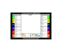 Placa de Identificação Visual Lupus 0011 em PVC