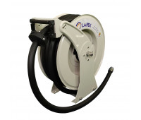 Carretel Automático para Óleo Lubrificante Água e Combustíveis em geral Lapek LPK-1134015M com 15m de Mangueira Ø 3/4 Pol