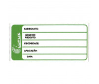 Adesivo para Identificação Pequeno Lupus 0120 Verde