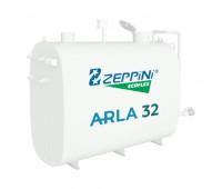 Tanque para Armazenamento Aéreo de Arla 32 Zeppini com Capacidade de 5000 Litros e Indicador de Nível Analógico