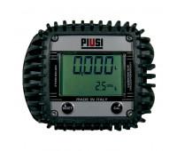 Medidor Digital para Óleo Lubrificante e Diesel Piusi 2100-K4 Vazão de 30LPM 1-2 Polegadas BSP