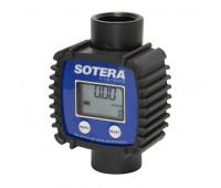 Medidor Digital para Arla 32 Lubmix FR1118P10 com 98LPM Entrada e Saída 1 Polegada