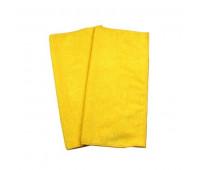 Conjunto de Toalhas Absorventes em Poliester e Poliamida para Abosorção de Água e Limpeza Lupus 0362 Amarela