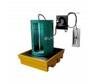 Kit para Lubrificação Elétrico adaptável a Parede e Tambor de 200L com Medidor Digital MIX-KES-MD200 30LPM SAE90