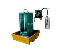 Kit para Lubrificação Elétrico adaptável a Parede e Tambor de 200L com Medidor Programável MIX-KES-PG200 30LPM SAE90