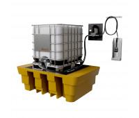 Kit para Lubrificação Elétrico adaptável a Parede e IBC de 1000L com Medidor Programável MIX-KES-PG1000 30LPM SAE90