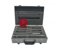 Kit para Controle de Qualidade do Combustível Lubmix 501C com Proveta de 100 ml Modelo Novo