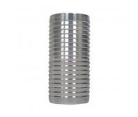 Emenda em Aço Inox Lupus 1092 para Diesel Água e Óleo Lubrificante Ø 3/8 Pol