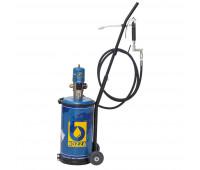 Propulsora Pneumática para Graxa Bozza 11015-G2 com Reservatório de 14KG