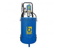 Propulsora Pneumática para Graxa Bozza 11020-G2 com Reservatório de 30KG