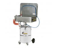 Lavadora de Peças com Coletor Pressurizado Lupus 1241 Capacidade 50 Litros e 65 Litros