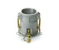 """Acoplador De Redução Camlock Em Alumínio Tipo DD 3"""" x 4"""" 1457"""