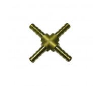 Emenda em Cruz Lupus 1994-CA em Latão Escama 1-4Polx1-4Polx1-4Polx1-4Pol NPT com 10 Unidades
