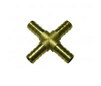 Emenda em Cruz Lupus 1994-CC em Latão Escama 3-8Polx3-8Polx3-8Polx3-8Pol NPT com 10 Unidades