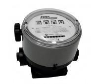 Medidor Mecânico para Óleo Lubrificante Diesel Gasolina Querosene Lupus 2100-VD de 4 Dígitos 230LPM 1-1-2 Polegadas NPT