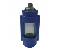 Visor de Passagem de Combustível Zeppini 2100-VZA Cor Azul