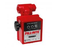 Medidor Mecânico à Prova de Explosão com Filtro para Diesel Gasolina e Querosene Fill-Rite 2100A-MDF de 3 Dígitos 76LPM 1 Polegadas NPT