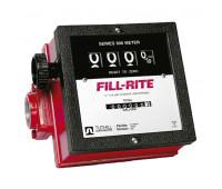 Medidor Mecânico à Prova de Explosão para Diesel Gasolina e Querosene Fill-Rite 2100A-ME de 4 Dígitos 151LPM 1 Polegada NPT