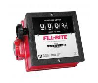 Medidor Mecânico à Prova de Explosão para Diesel Gasolina e Querosene Fill-Rite 2100A-MG de 4 Dígitos 151LPM 1-1-2 Polegadas NPT