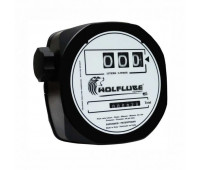Medidor Mecânico para Diesel Wolflube MLP-2100W-3DG 03 Dígitos com Visor Giratório