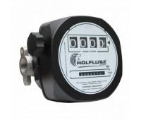 Medidor Mecânico para Diesel Wolflube MLP-2100W-4DG 04 Dígitos com Visor Giratório
