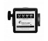 "Medidor Mecânico para Diesel Wolflube MLP-2100W-E4D 04 Dígitos Ø 1"" BSP (F)"