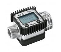 Medidor Digital para Diesel Gasolina e Querosene Piusi 2120-AL Vazão de 120LPM 1 Polegada BSP