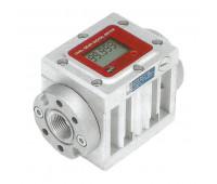 Medidor Digital para Óleo Lubrificante e Diesel Piusi 2170 Vazão de 150LPM 1-1-2 Polegadas BSP