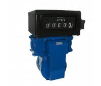 """Medidor Mecânico Registrador de Alta Vazão para Diesel Gasolina e Querosene Lubmix MIX-MR62 05 Dígitos 400LPM 2"""""""