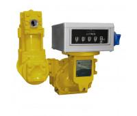 Medidor Mecânico Registrador de Alta Vazão para Diesel Gasolina e Querosene Lupus 2500-MP 05 Dígitos 500LPM 2 Polegadas