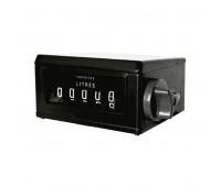 Numerador Mecânico Registrador com 05 Dígitos para Diesel Lubmix MIX-NR64 em Aço