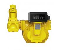 Medidor Mecânico Registrador de Alta Vazão para Combustíveis Lapek LPK-MR64 - 05 Dígitos 1300L/Min 4 Pol